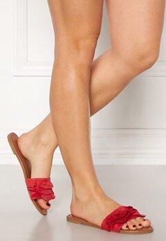 Pieces Eagen Sandal Shoes Aura Orange Bubbleroom.fi
