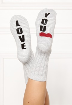 PJ. Salvage Fun Socks Heather Grey Bubbleroom.fi