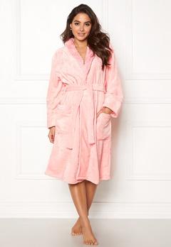 PJ. Salvage Luxe Plush Robes Blush Bubbleroom.fi