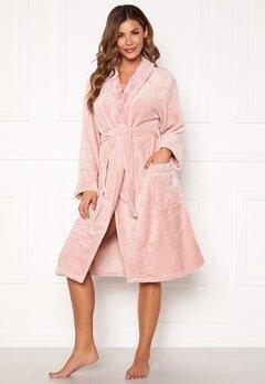 PJ. Salvage Luxe Plush Robes Rose Quartz Bubbleroom.fi