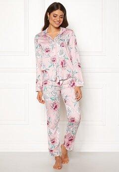 PJ. Salvage PJ Pyjama Set Pale Pink Bubbleroom.fi