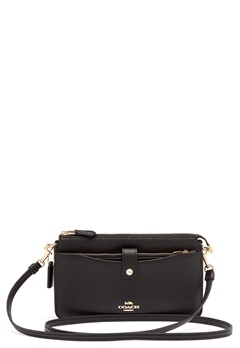 COACH Polished Pebble Bag Black Bubbleroom.fi