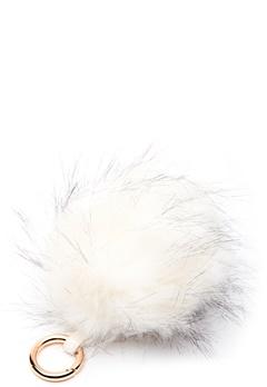 ROCKANDBLUE Pom Pom Charm Faux Fur 8010 Bleached/Gold Bubbleroom.fi