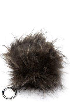 ROCKANDBLUE Pom Pom Charm Faux Fur 8370 Greyish/Silver Bubbleroom.fi