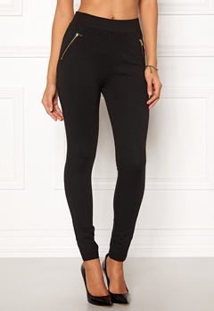 New Look Ponte Zip Leggings 1 Bubbleroom.fi