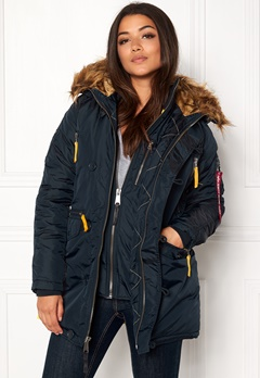 Alpha Industries PPS N3B Wmn Jacket Rep Blue Bubbleroom.fi