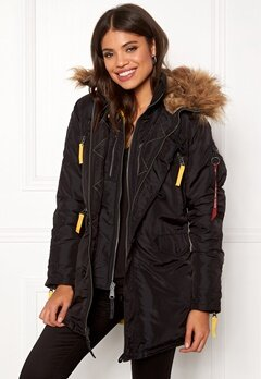 Alpha Industries PPS N3B Wmn Jacket Black Bubbleroom.fi