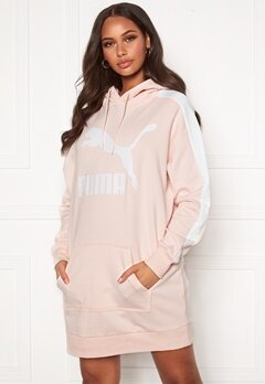 PUMA Classic T7 Hooded Dress Pink Bubbleroom.fi