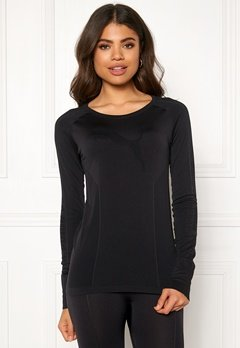 PUMA Evoknit Seamless LS Top 001 Black Bubbleroom.fi
