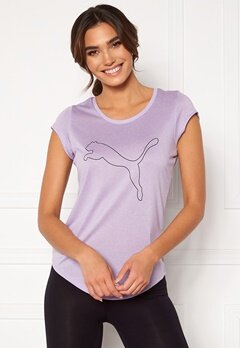 PUMA Performance Cat Tee Light Lavender Bubbleroom.fi