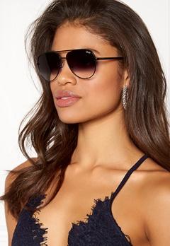 Quay Australia High Key Mini Sunglasses Black/SmokeFadeLens Bubbleroom.fi