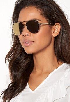 Quay Australia High Key Mini Sunglasses Gold/Gold Mirror Bubbleroom.fi