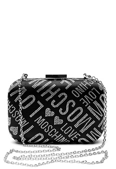 Love Moschino Quilted Small Bag Silver Bubbleroom.fi