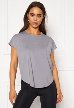 Röhnisch Leo Loose Top Grey Melange Bubbleroom.fi