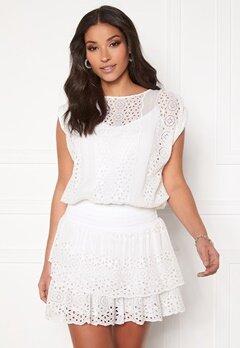 Ravn Bee Dress White Bubbleroom.fi