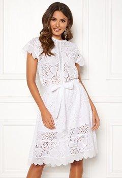 Ravn Sonny Dress White Bubbleroom.fi