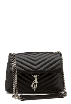 Rebecca Minkoff Edie Crossbody Pebble Bag Black Bubbleroom.fi