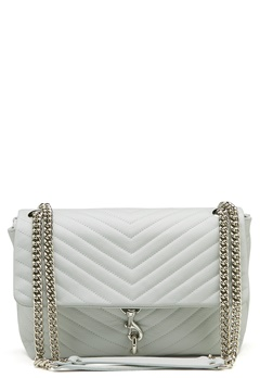 Rebecca Minkoff Edie Flap Shoulder Bag Ice Blue Bubbleroom.fi