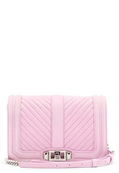 Rebecca Minkoff Small Love Crossbody Light Orchid Bubbleroom.fi