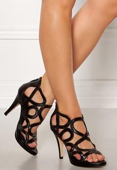 SARGOSSA Redefined New Suede Heels Black Bubbleroom.fi