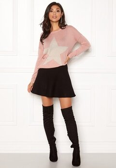 ONLY Reese L/S Pullover Knit Misty Rose Bubbleroom.fi