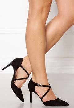 New Look Rexed Strap Point heel Black Bubbleroom.fi