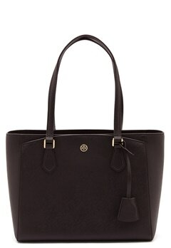 TORY BURCH Robinson Small Tote Black Bubbleroom.fi