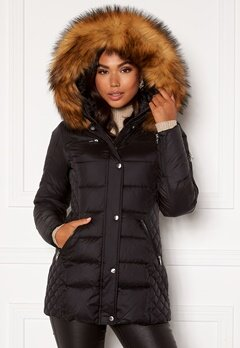 ROCKANDBLUE Beam Mid Jacket 89915 Black/Natural Bubbleroom.fi