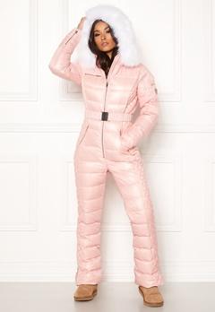 ROCKANDBLUE Ciara Jump Suit Down Light Pink/White Bubbleroom.fi