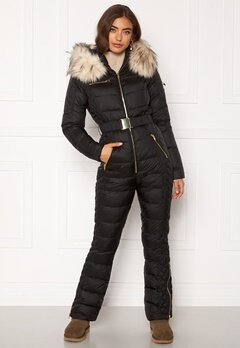ROCKANDBLUE Ciara Jumpsuit 89395 Black/Arctic/G Bubbleroom.fi
