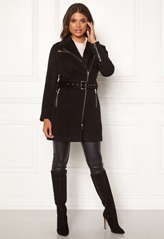 ROCKANDBLUE Eriana Wool Coat Black Bubbleroom.fi