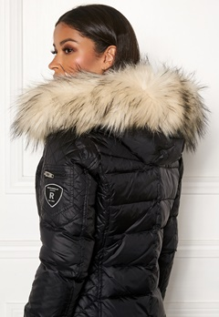 ROCKANDBLUE Faux Fur Trim Black/Artica Bubbleroom.fi