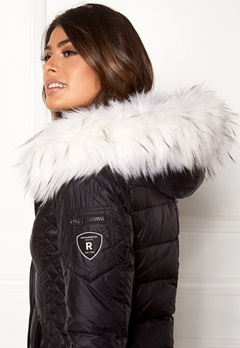 ROCKANDBLUE Faux Fur Trim Black/Bleached Bubbleroom.fi