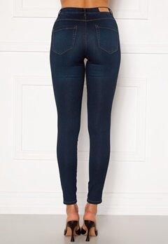 ONLY Royal Life HW Jeans Dark Blue Denim Bubbleroom.fi