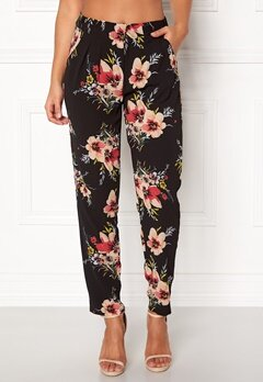 Rut & Circle Carina Flower Pant Black Combo Bubbleroom.fi