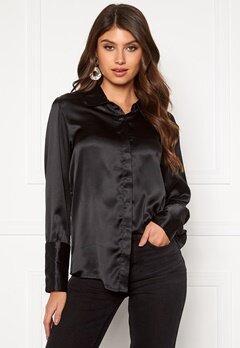 Rut & Circle Lucy Shirt Black Bubbleroom.fi