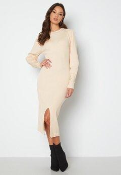 Rut & Circle Megan Knit Dress 157 Light Beige bubbleroom.fi