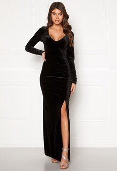 Rut & Circle Nikki Maxi Dress Black Bubbleroom.fi