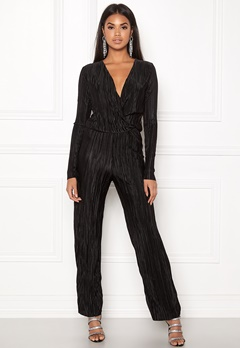Rut & Circle Pleated Jumpsuit Black Bubbleroom.fi