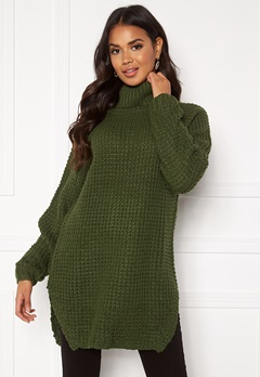 Rut & Circle Samira Polo Khaki Green Bubbleroom.fi