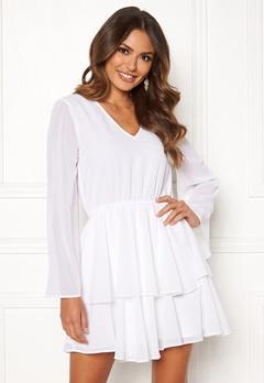 Rut & Circle Tuva Dress White Bubbleroom.fi
