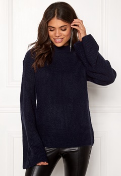 Rut & Circle Wide Sleeve Pullover Midnight Blue Bubbleroom.fi