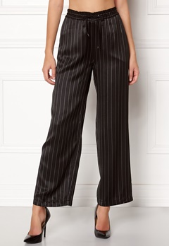 Samsøe & Samsøe Bette Pants Black Pinstripe Bubbleroom.fi