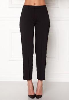Samsøe & Samsøe Louisa Crop Pants Black Bubbleroom.fi