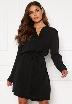 Samsøe & Samsøe Monique Shirt Dress Black Bubbleroom.fi