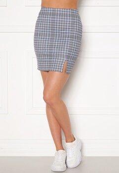Sara Sieppi x Bubbleroom Mini Skirt Grey Bubbleroom.fi
