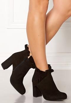SARGOSSA Flourish Suede Boots Black Bubbleroom.fi