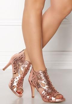 SARGOSSA Shades Nappa Leather Heels Rose Gold Bubbleroom.fi