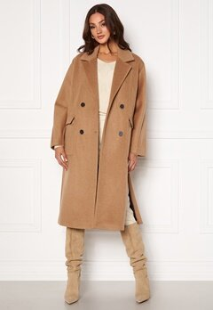 SELECTED FEMME Element Wool Coat Tigers Eye Bubbleroom.fi