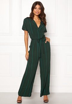 SELECTED FEMME Flaune SS Jumpsuit Scarab Bubbleroom.fi